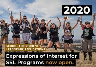 Application & Expression of Interest Form for 2020 SSL Programs