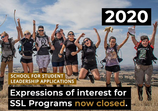 Expressions of Interest for 2020 SSL Programs Now Open