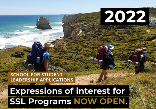 Expressions of Interest for 2022 SSL Programs OPENS IN TERM 2 for Alpine School, Snowy River, Gnurad-Gundidj and Haining Farm Campuses