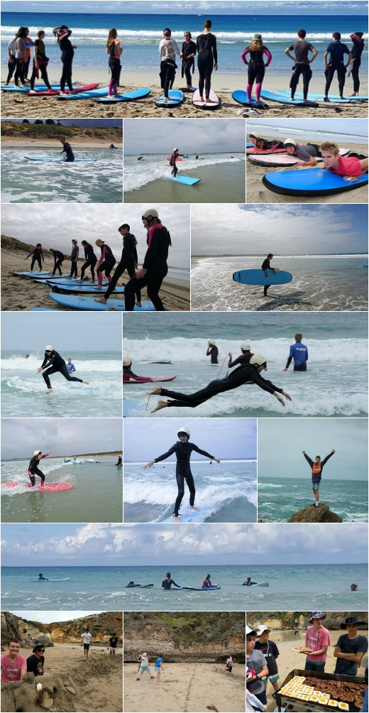 Term 1, 2016 - Surfing and Boys Day Out