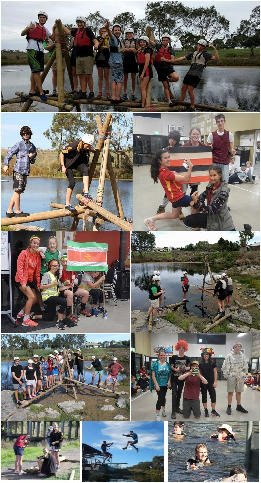 Term 2, 2016 - Bridge Building, Gnurad Olympics and Expo Food Prac