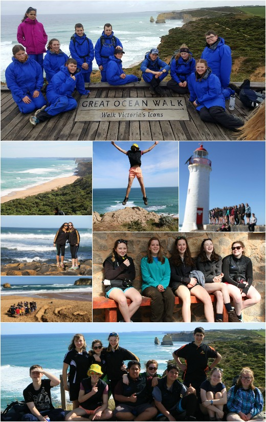 Term 3, 2016 - Girls Day, Boys Day, and walk to the 12 Apostles